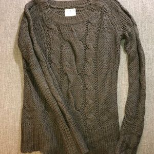 Aerie Mohair Blend Sweater - Size: XS